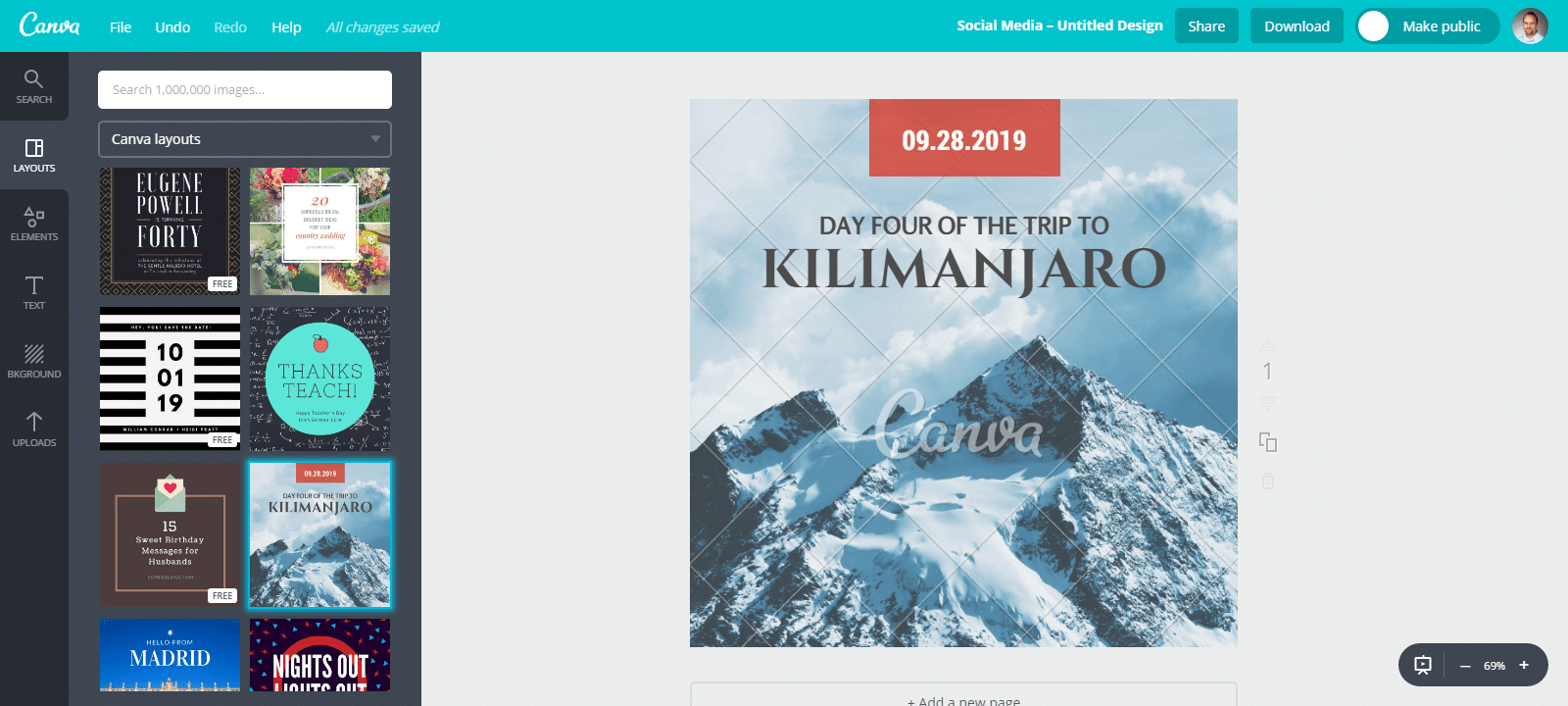 canva base template