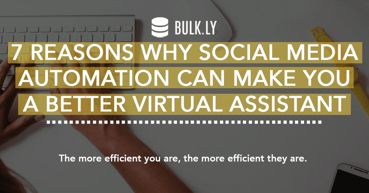 virtual assistant social media