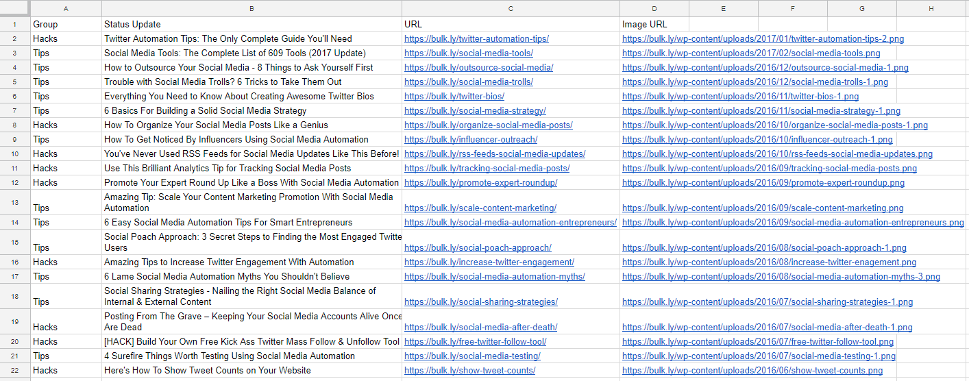 My Top-Secret Social Media Content Creator Hack Using Google Sheets 12