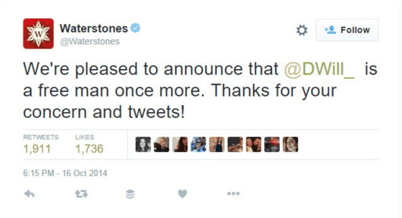 waterstones reply