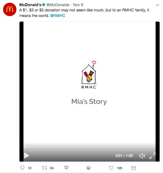 mcdonalds tweet with img