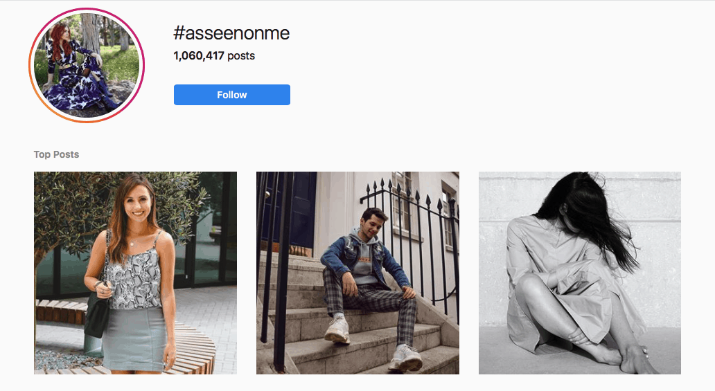 Instagram Trend: User Generated Images