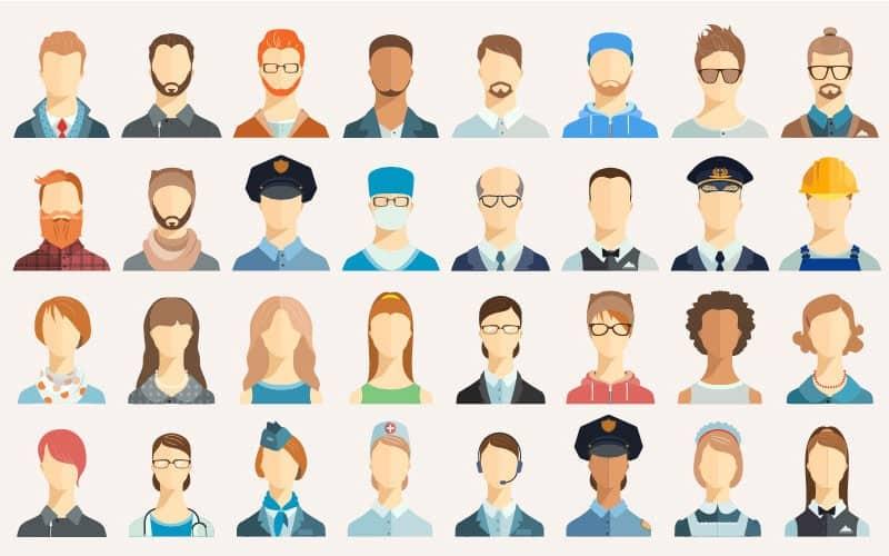 customer avatars