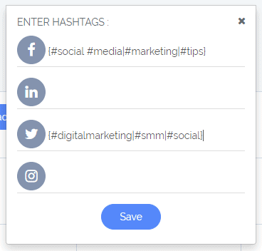 "How does the ""Hashtags"" option work? 1"