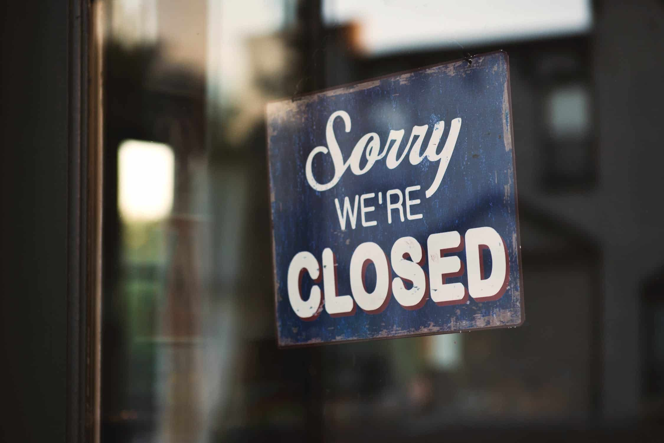 closed-business
