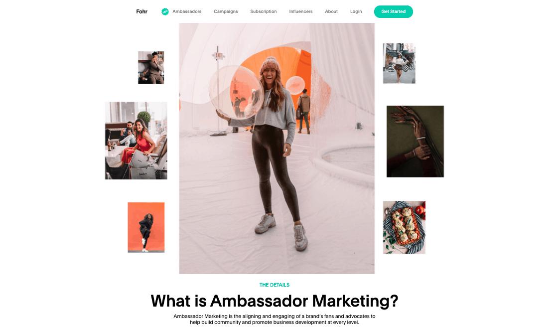 instagram influencer ambassador marketing