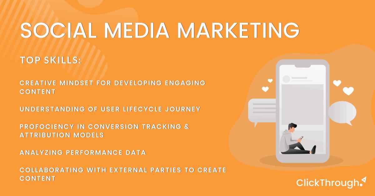 12 Essential Skills Needed for a Social Media Marketing Job 1