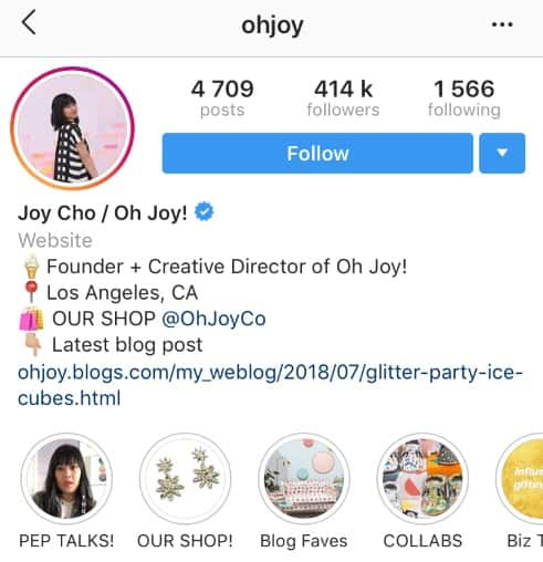 9 Instagram Bio Ideas & Tips For Your Business 4