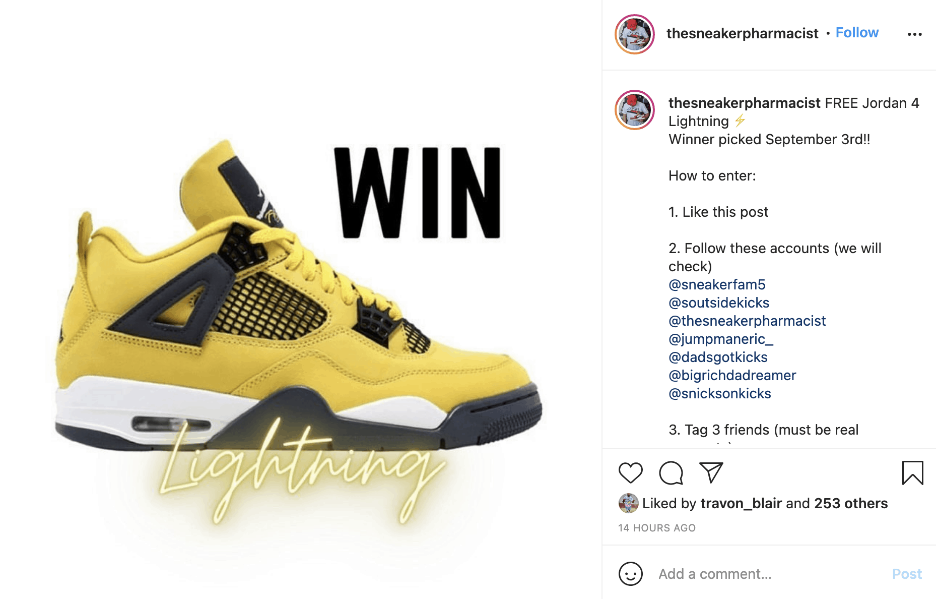 How to Host an Instagram Giveaway 1