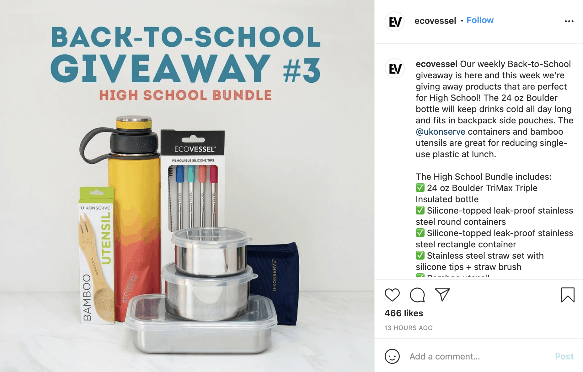 How to Host an Instagram Giveaway 5